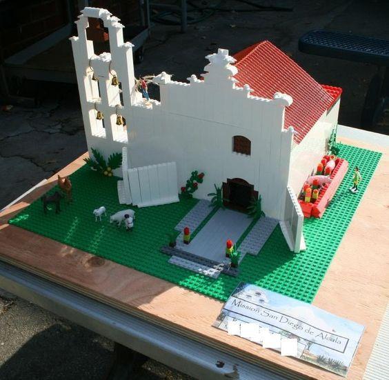 Jack's Henhouse: Mission San Diego de Alcala--The Lego Version ...