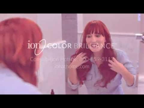 Ion Color Brilliance Intensive Shine 6rv Light Burgundy Blonde