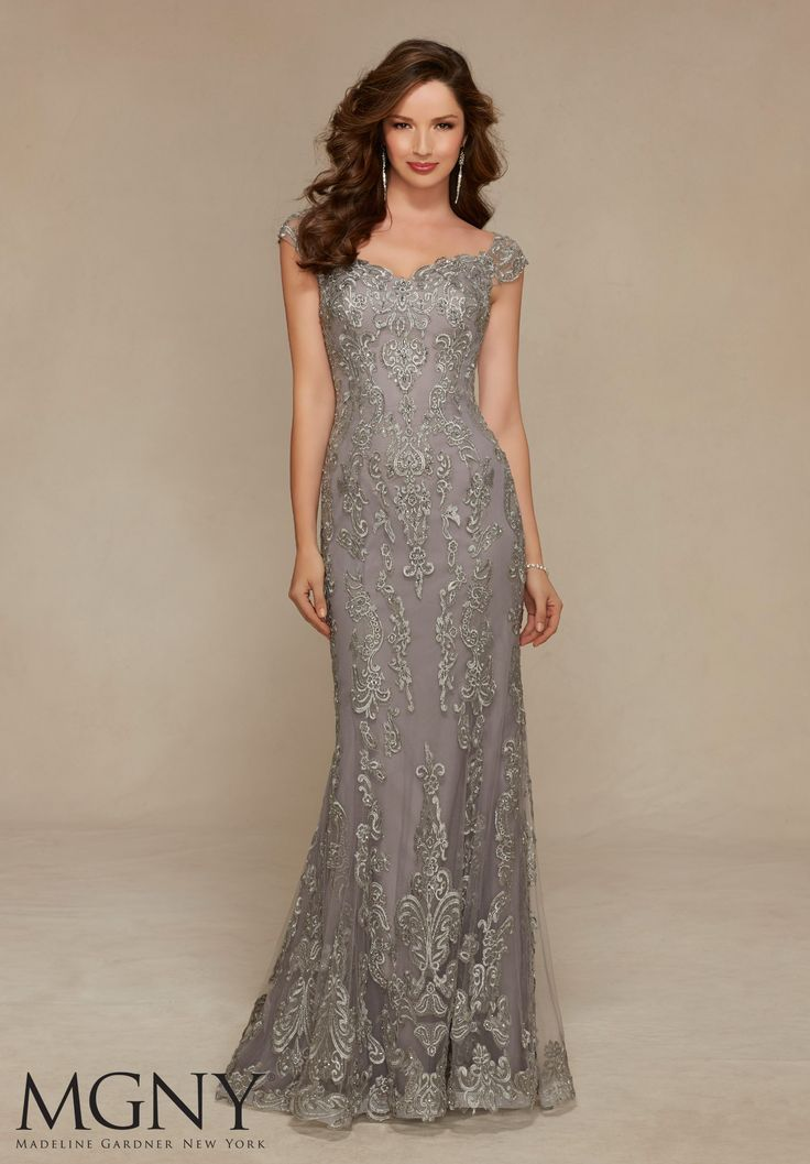 H M Long Evening Dresses In Silver