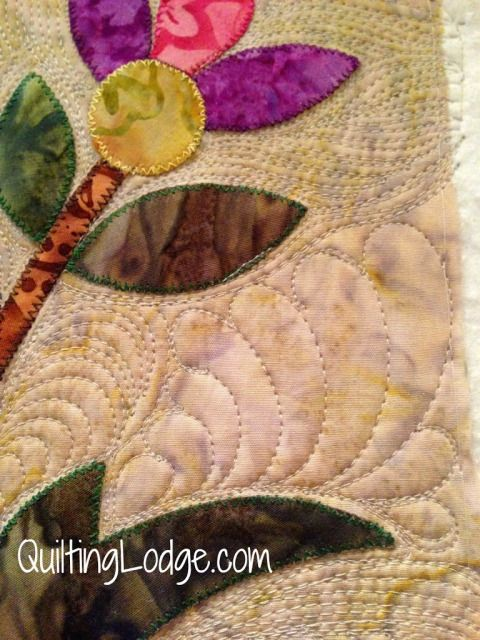 quilting around applique | quilts | Pinterest | Quilting designs ... : machine quilting around applique - Adamdwight.com