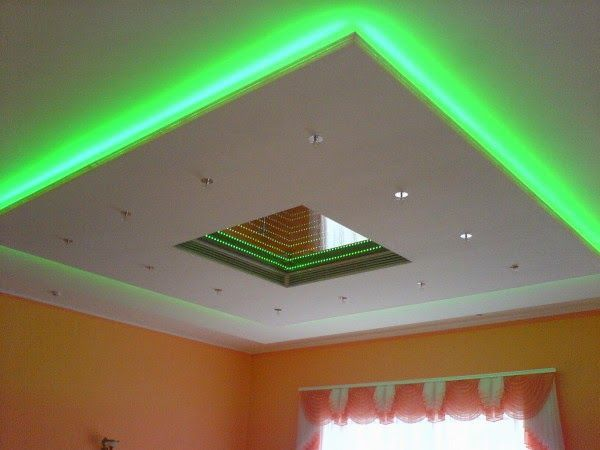 Ceiling Designs, False Ceiling, Suspended Ceiling With Lighting System