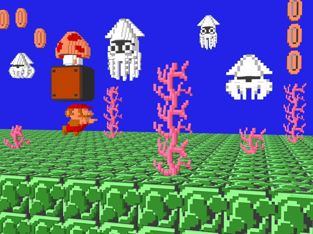nes tileset - Google Search | Video Game | Super mario bros