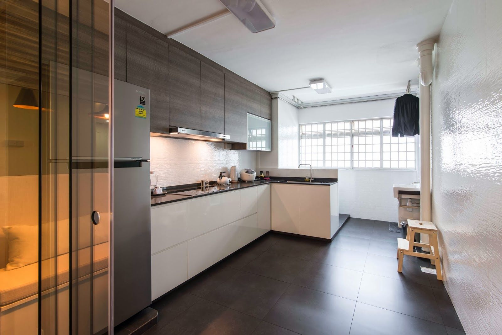 Hdb Kitchen Design Photos Hdb 3 Rooms Modern Contemporary Design Living With Dark
