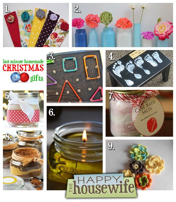 Best Homemade Gifts For Christmas: Last Minute Homemade Christmas Gifts