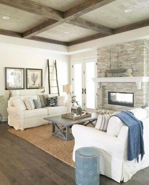 30+ Extraordinary Coastal Living Room Decoration Ideas #coastallivingrooms