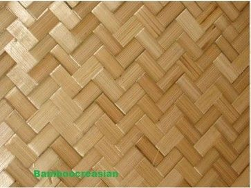 Lau Hala Bamboo Matting Wall Covering Tree House