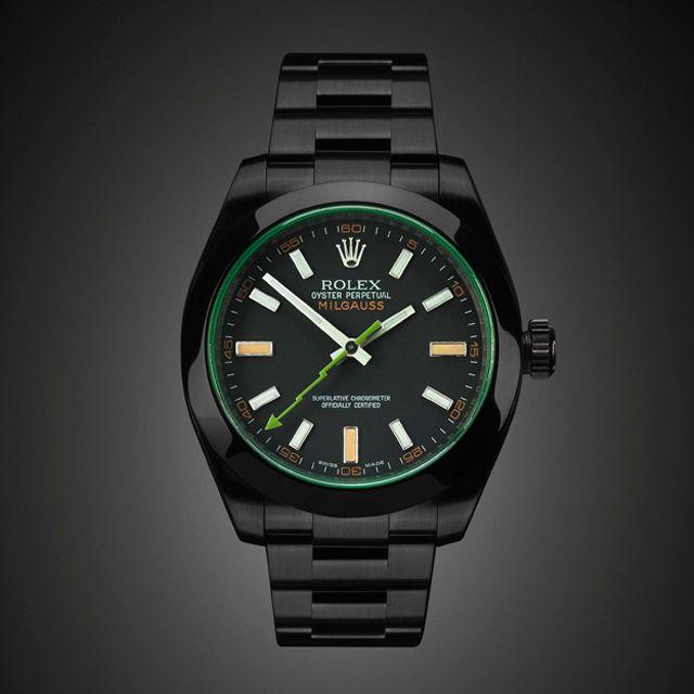 e0272d487d1 Project X Black-Out Rolex Milgauss GV  design  rolex  watch