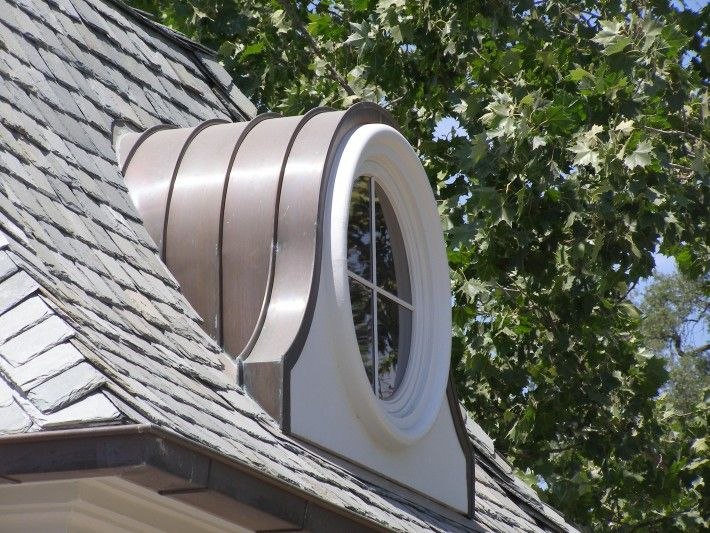 Circular Dormer For Kitchen To Match Large Circular Window In Sun Room In 2020 Dormer Roof Dormers Roof