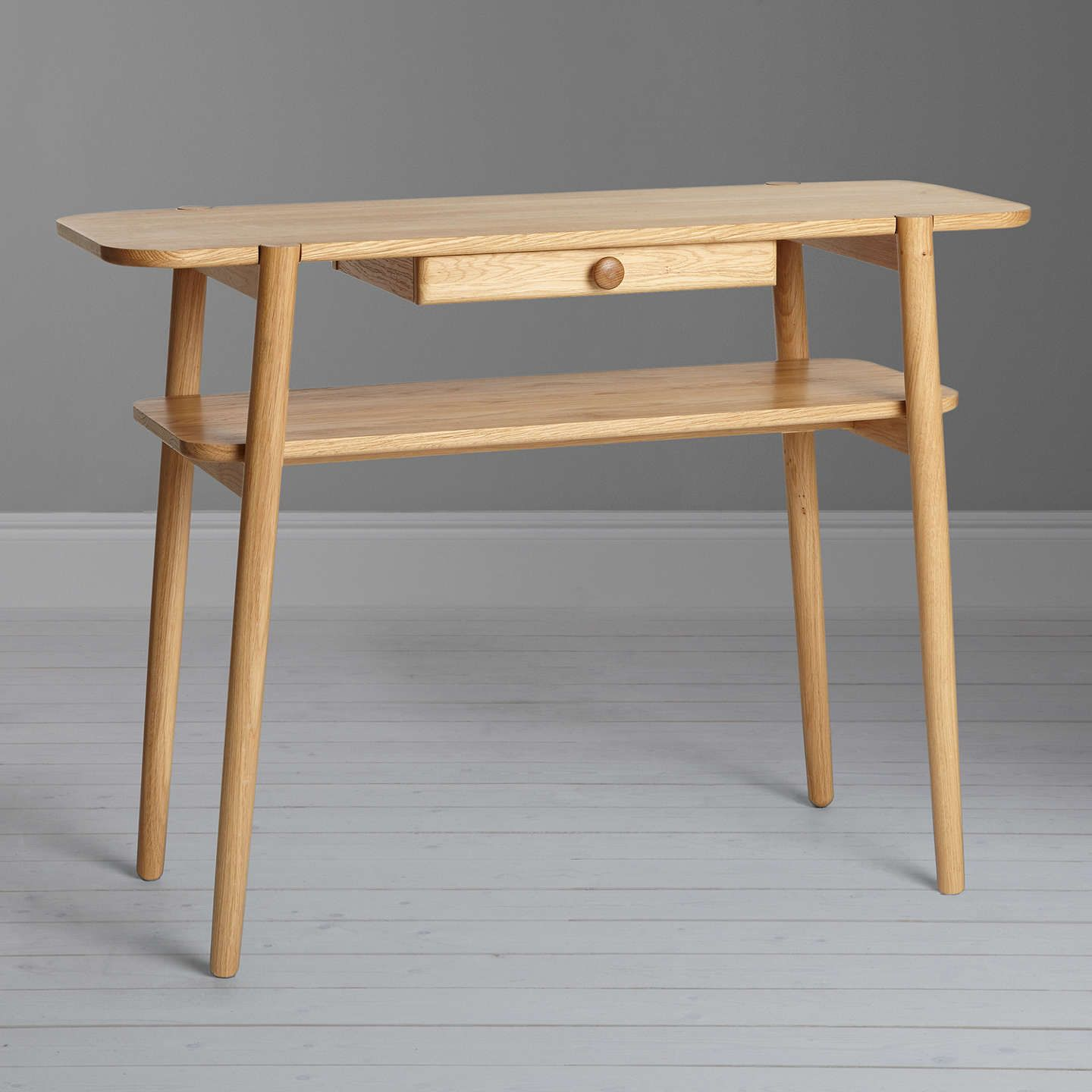 Design project by john lewis no022 console table oak console buydesign project by john lewis no022 console table oak online at johnlewis geotapseo Image collections