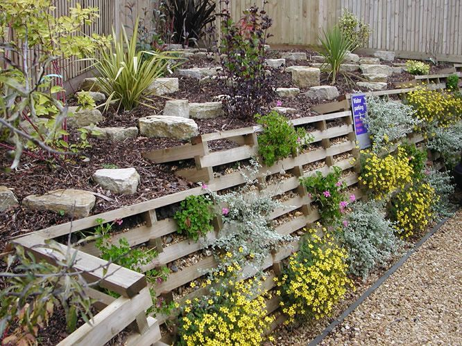 Pin By Aaron Odland On Wall Vegetated Retaining Hillside
