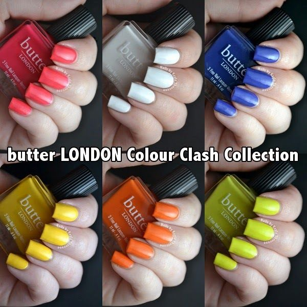Nails By Kayla Shevonne Review Swatches Butter London Colour