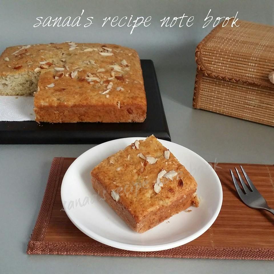 recipy for banana cake