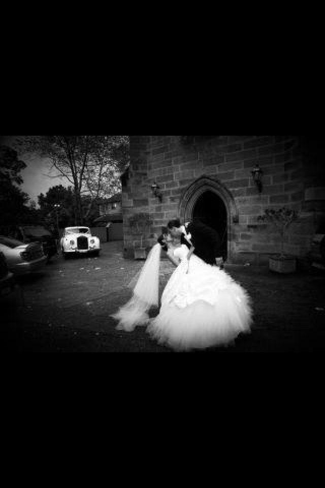 Romantic car shot ! Rolls Royce