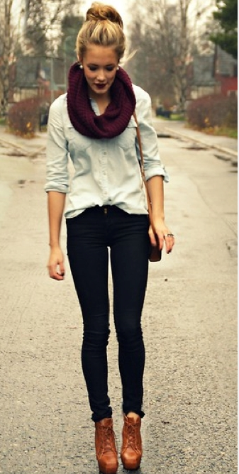 I would totally wear this on a cold day