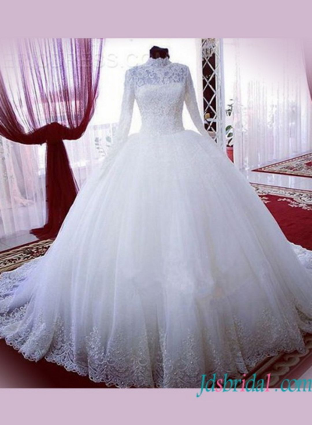 55+ Most Beautiful White Wedding Dress Ball Gown Ideas For The ...
