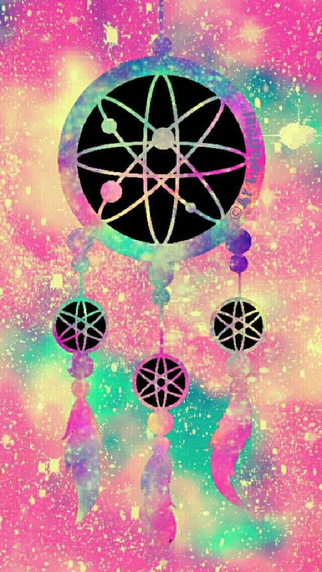 Vintage dreamcatcher galaxy iPhone/Android wallpaper I created for the app CocoPPa!! More