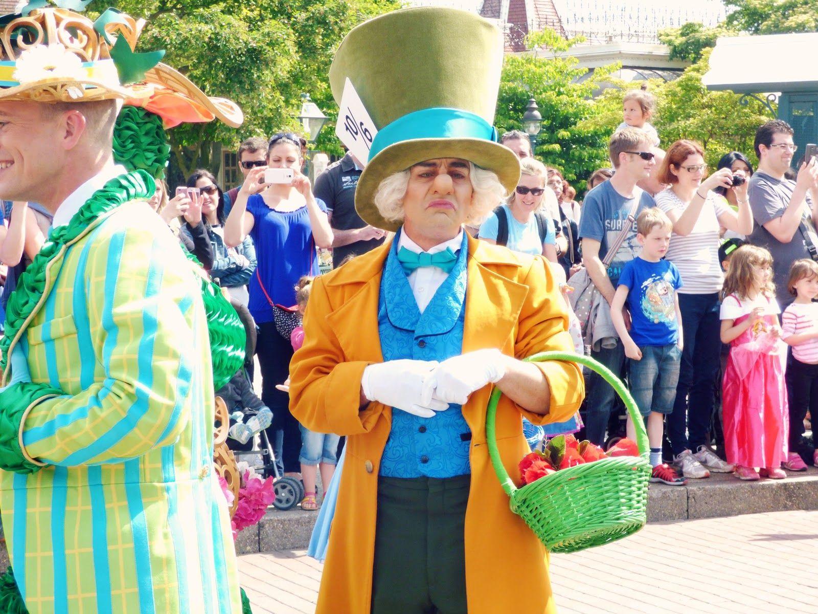 Disneyland paris le chapelier fou disneyland paris pinterest maquillage d guisement - Maquillage chapelier fou ...
