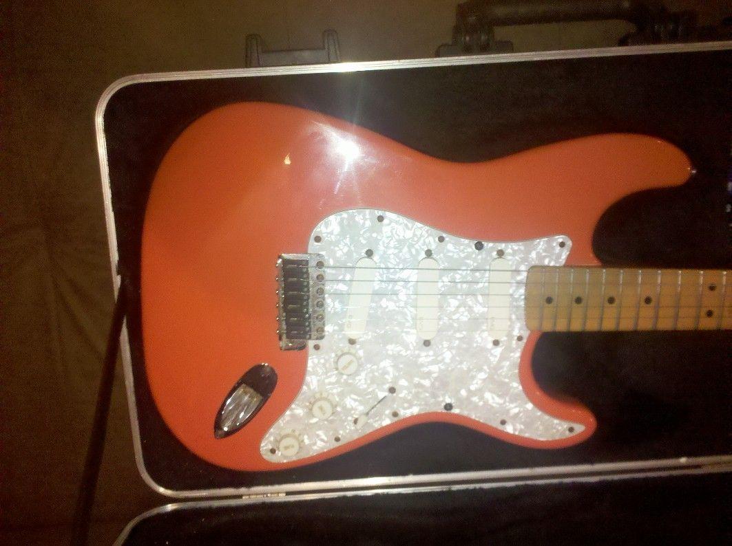 USA Fender Strat EMG DG20 | Studio Things | Fender strat