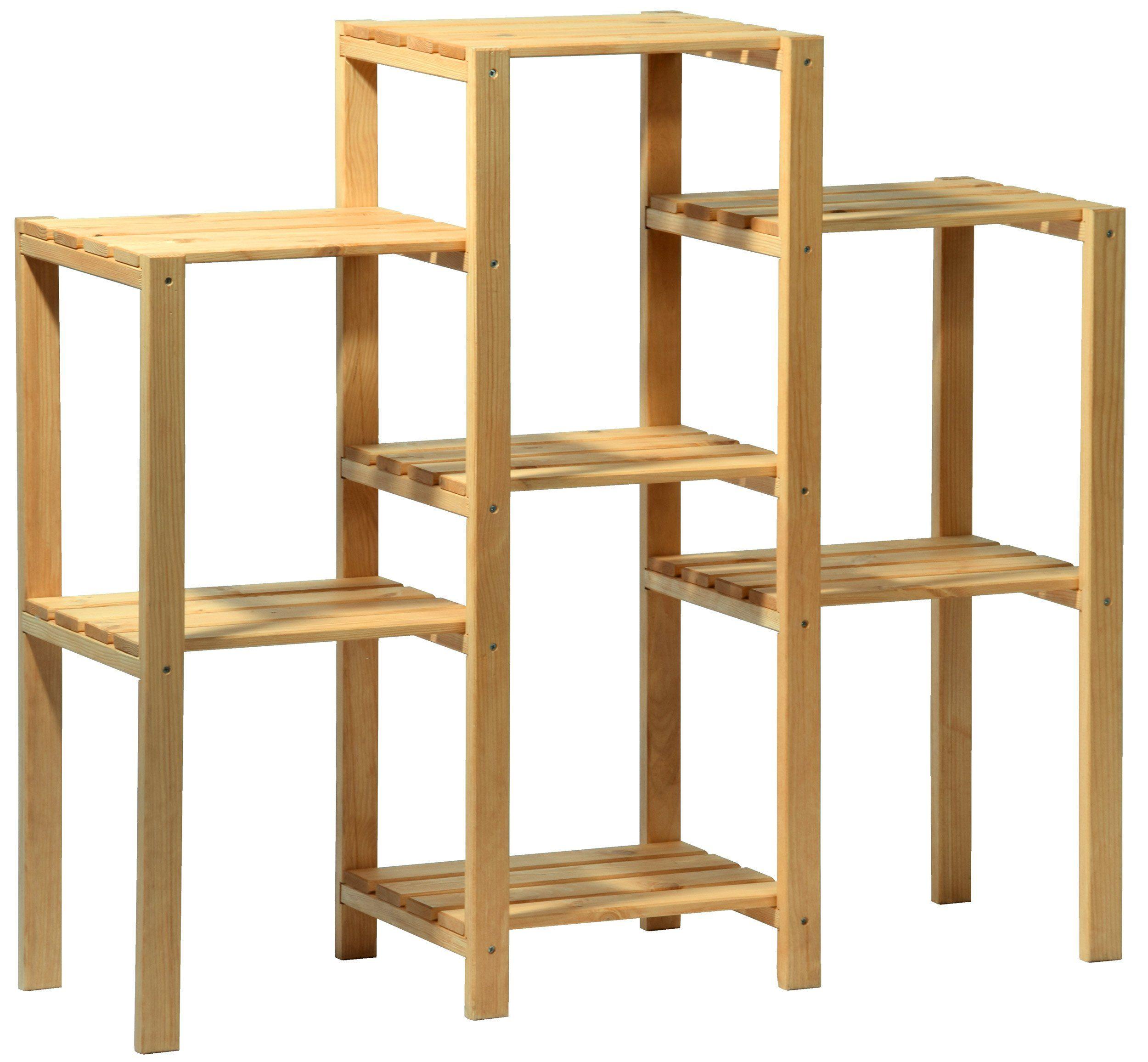 Dobar 29053 estanter a decorativa para macetas madera - Madera para estantes ...