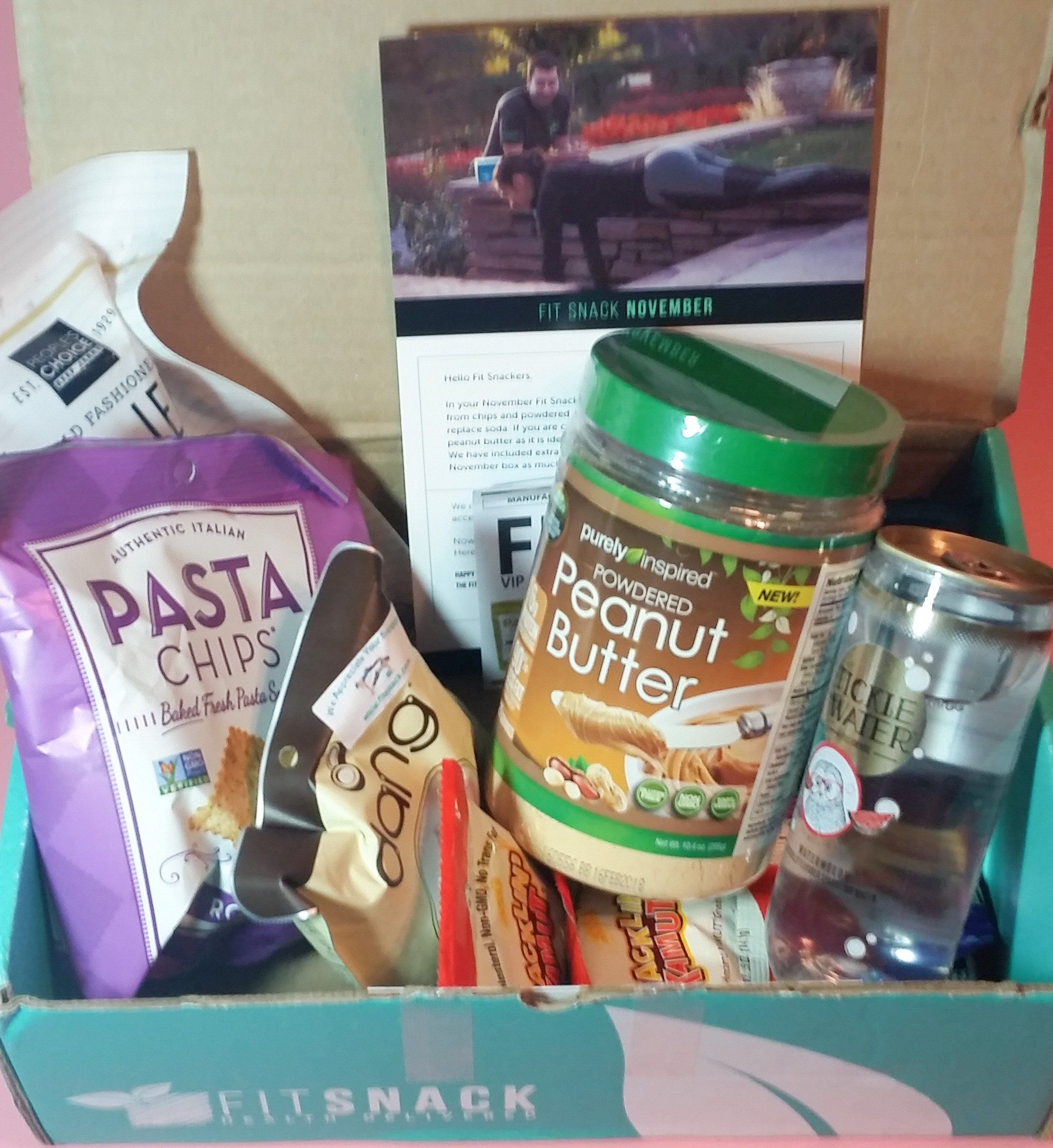 Fit Snack is a healthy snack subscription box – 7-10 full-size ...