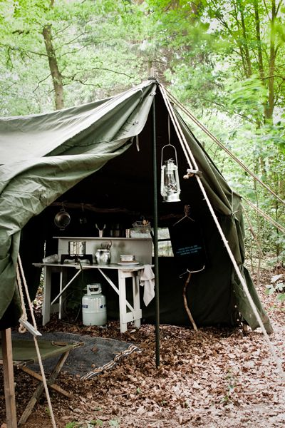 Army Kitchen Tent