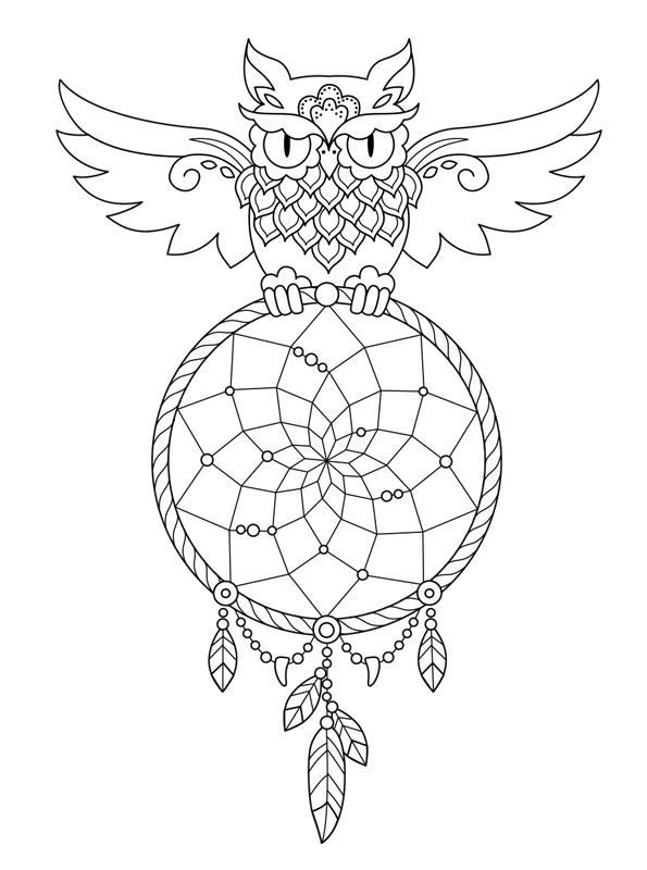 16 coloring pages of Dreamcatchers on Kids-n-Fun.co.uk. On Kids-n ...
