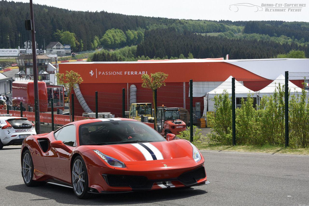 Alexandre Prévot Ferrari, Ferrari 488, Latest cars