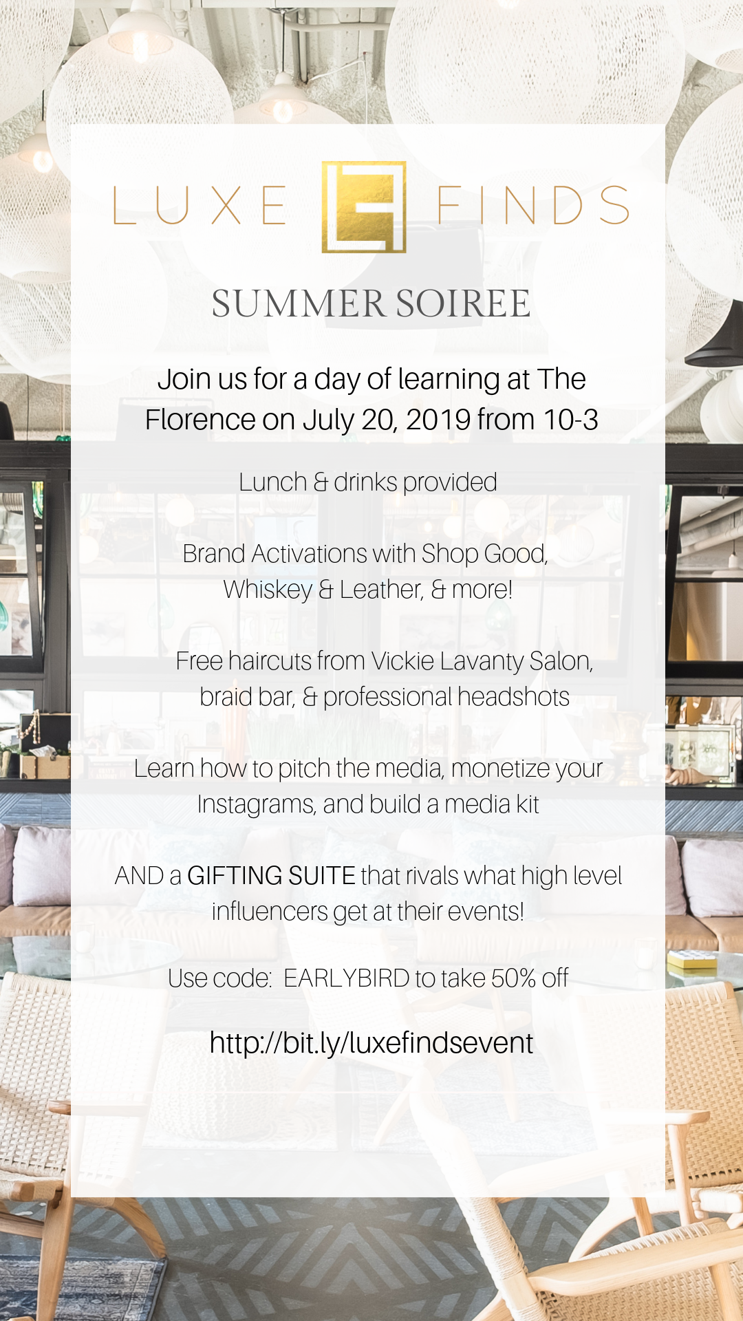 Are You A Beauty Or Fashion Micro Influencer In San Diego We Re Throwing A Networking Event For You On July 20 At Th Influencer Networking Event Free Haircut