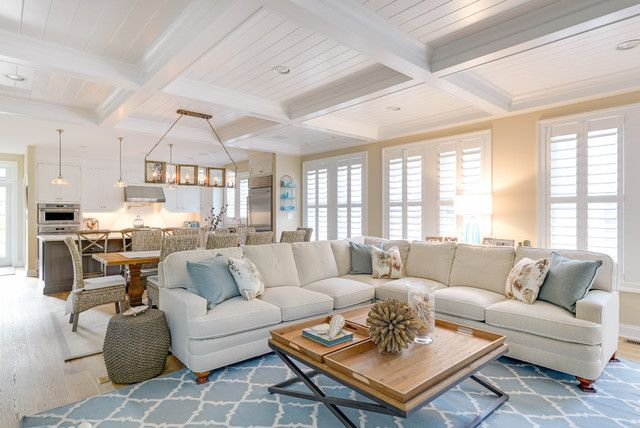 Quatrefoil Rug Living Room Beach With Blue Accents Coastal Decor Rhpinterest: Beach Home Decor Accents At Home Improvement Advice