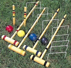 Croquet - used to play this all the time.