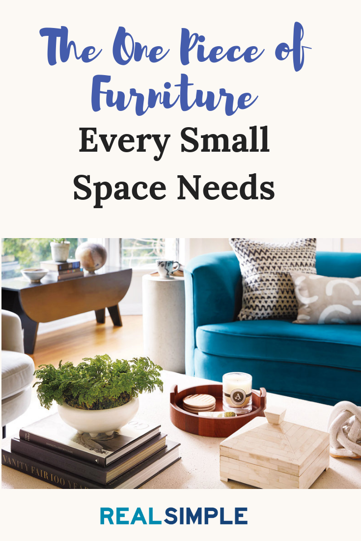 The One Piece Of Furniture Every Small Space Needs According To