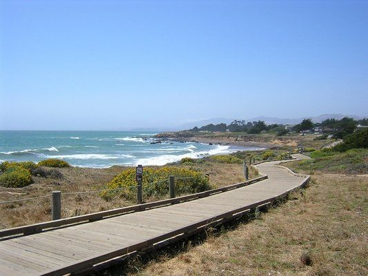 The Great Boardwalk At Moonstone Beach In Cambria Central California Beaches Pinterest And