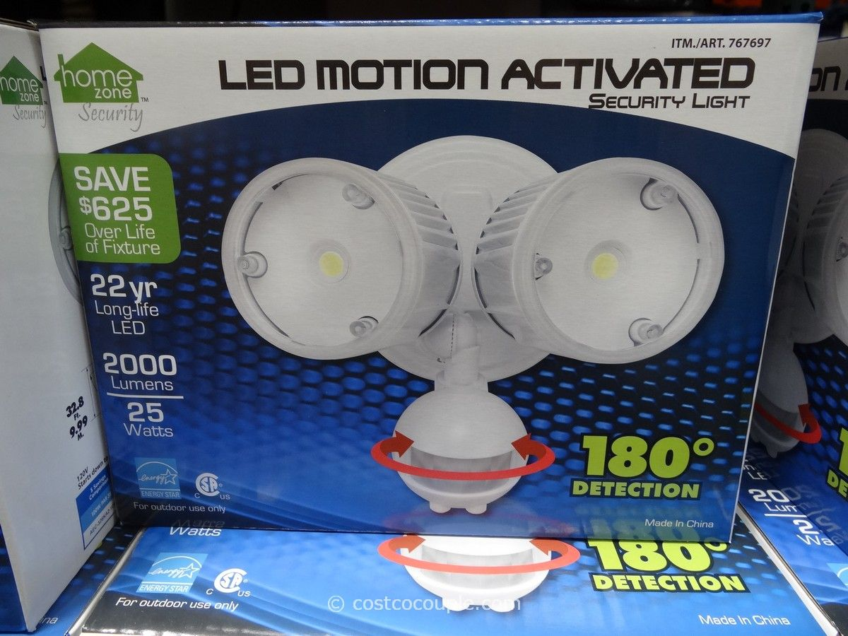 Led motion activated security light costco craft ideas led motion activated security light costco mozeypictures Images