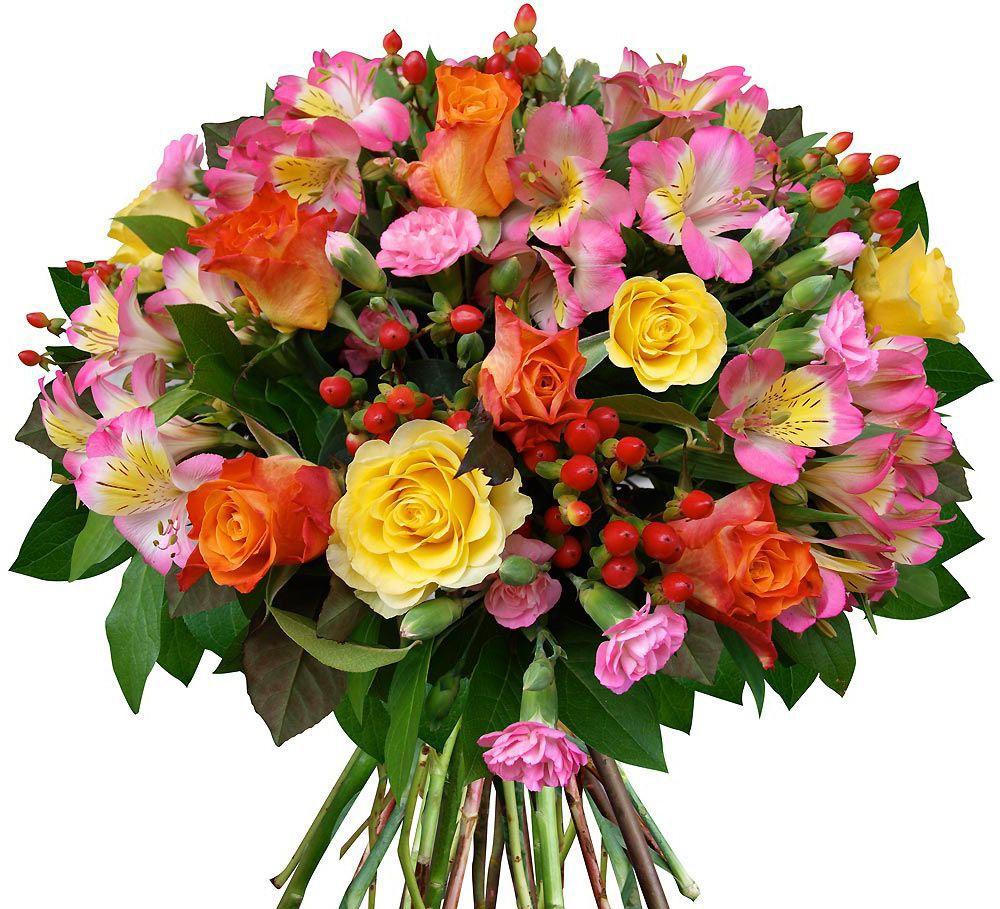 Прикольная фотка с цветами