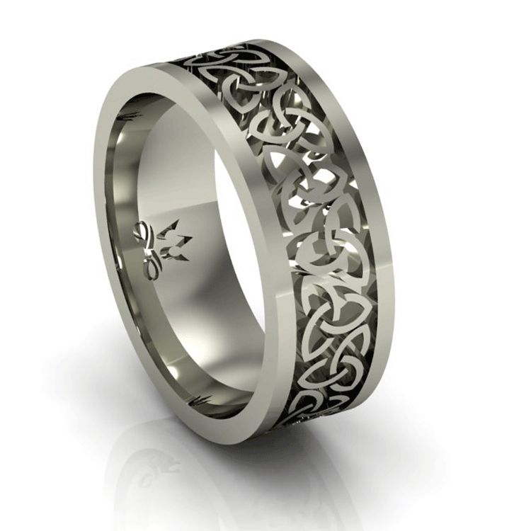 Mens Celtic Wedding Bands Irish Rings Ring For Him