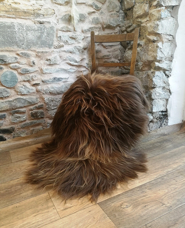 Sheep fleece rug, organic sheepksin, icelandic cloak