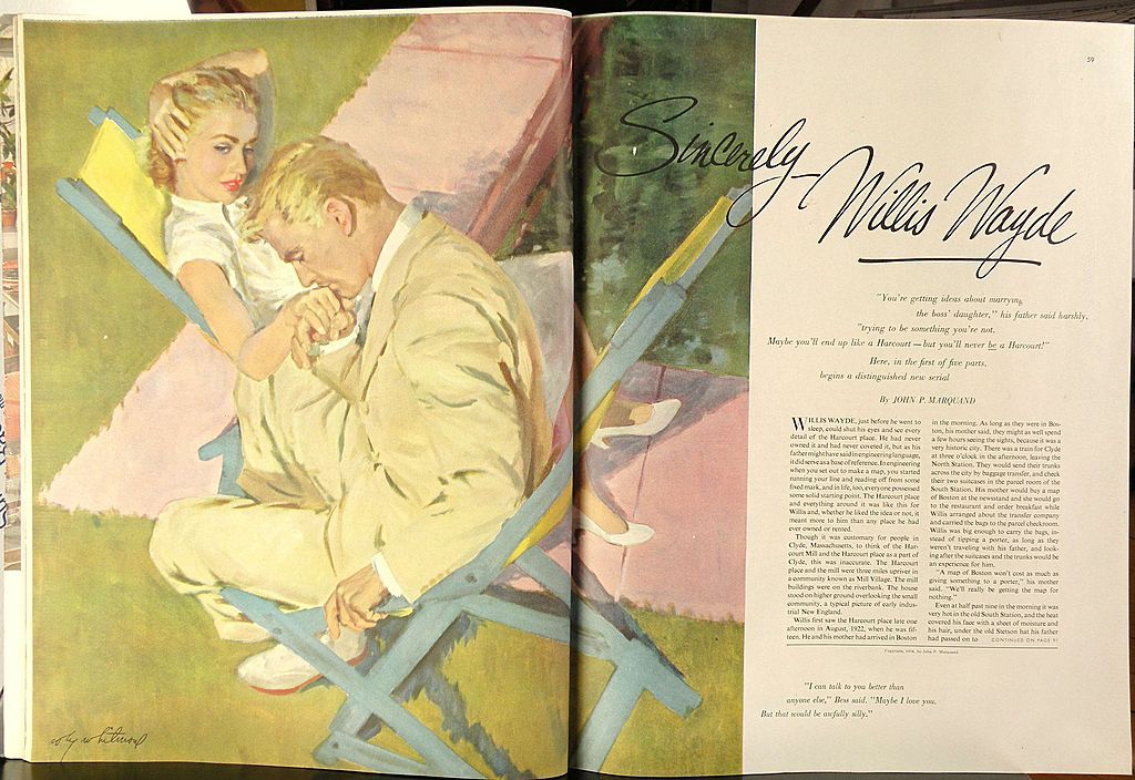 American Art - Coby WHITMORE 1954 - Sincerely, Willis Wayde - Illustration Oil Painting