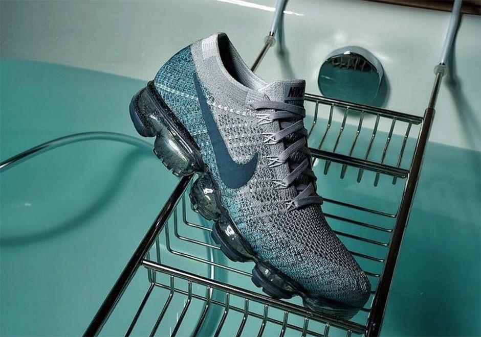 Nike VaporMax Speckle Sole Grey Blue