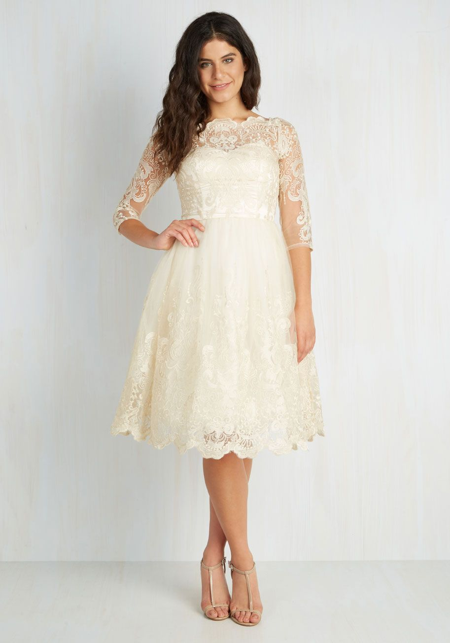 9e8637cb893 Gilded Grace Dress in Champagne by Chi Chi London - Sheer