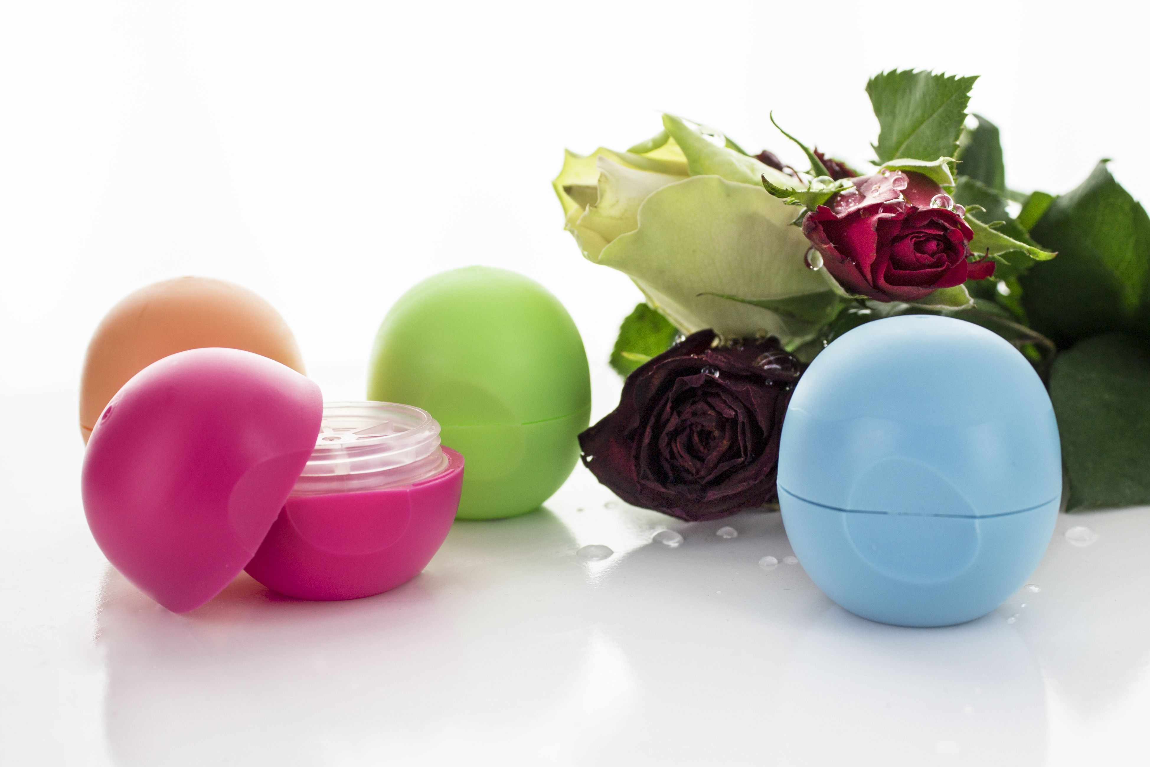IN STOCK Eggshaped Lipstick Jars Cosmetic packaging