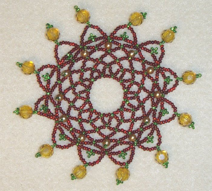 Free+Beaded+Ornament+Cover+Patterns | free beaded ornament cover ...
