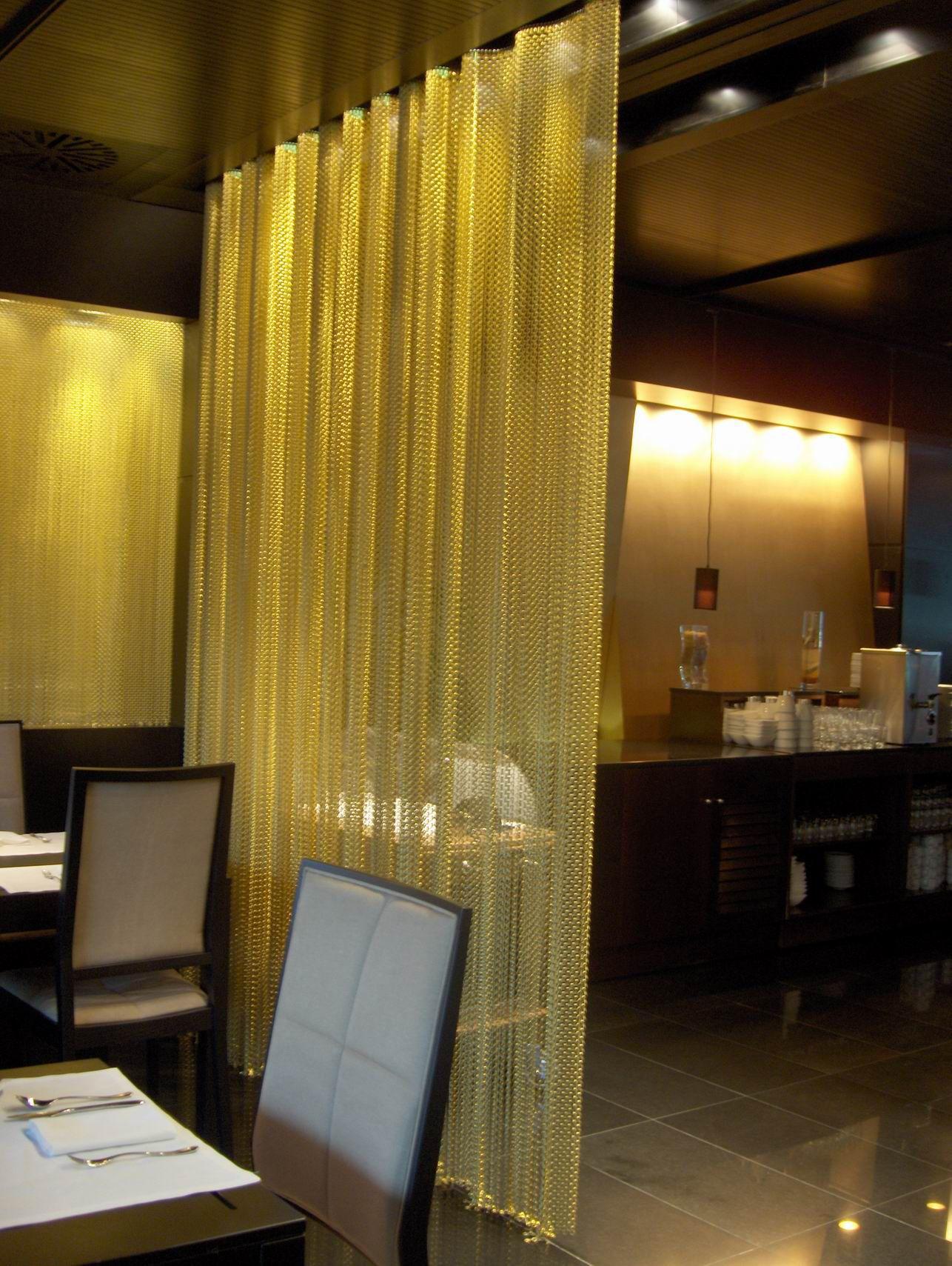 Casa Pasarela2009 cortina decorativa. decorative curtain | aluminium ...