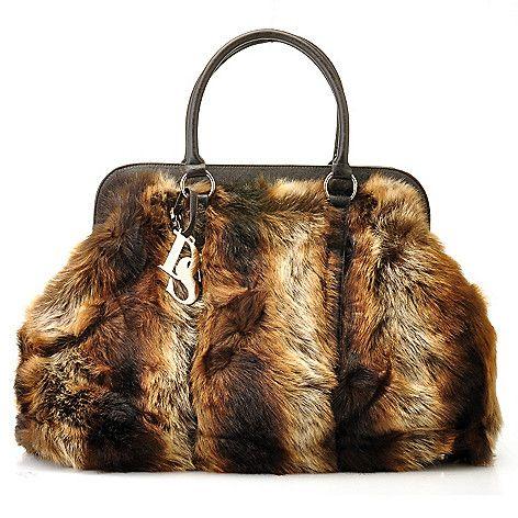 711-441 - Donna Salyers' Fabulous-Furs Faux Fur Weekender Bag