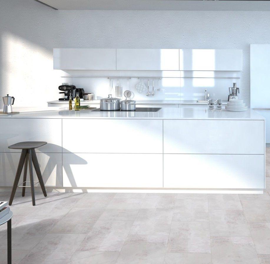 Gerflor Senso Clic Premium 0938 Gotha Clear Dalle Pvc Clipsable Interieur Moderne De Cuisine Interieur De Cuisine Idee Deco Cuisine