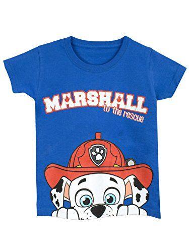 Paw Patrol - Camiseta para niño - La Patrulla Canina - 3 - 4 Años  camiseta   friki  moda  regalo 8afc789428c8