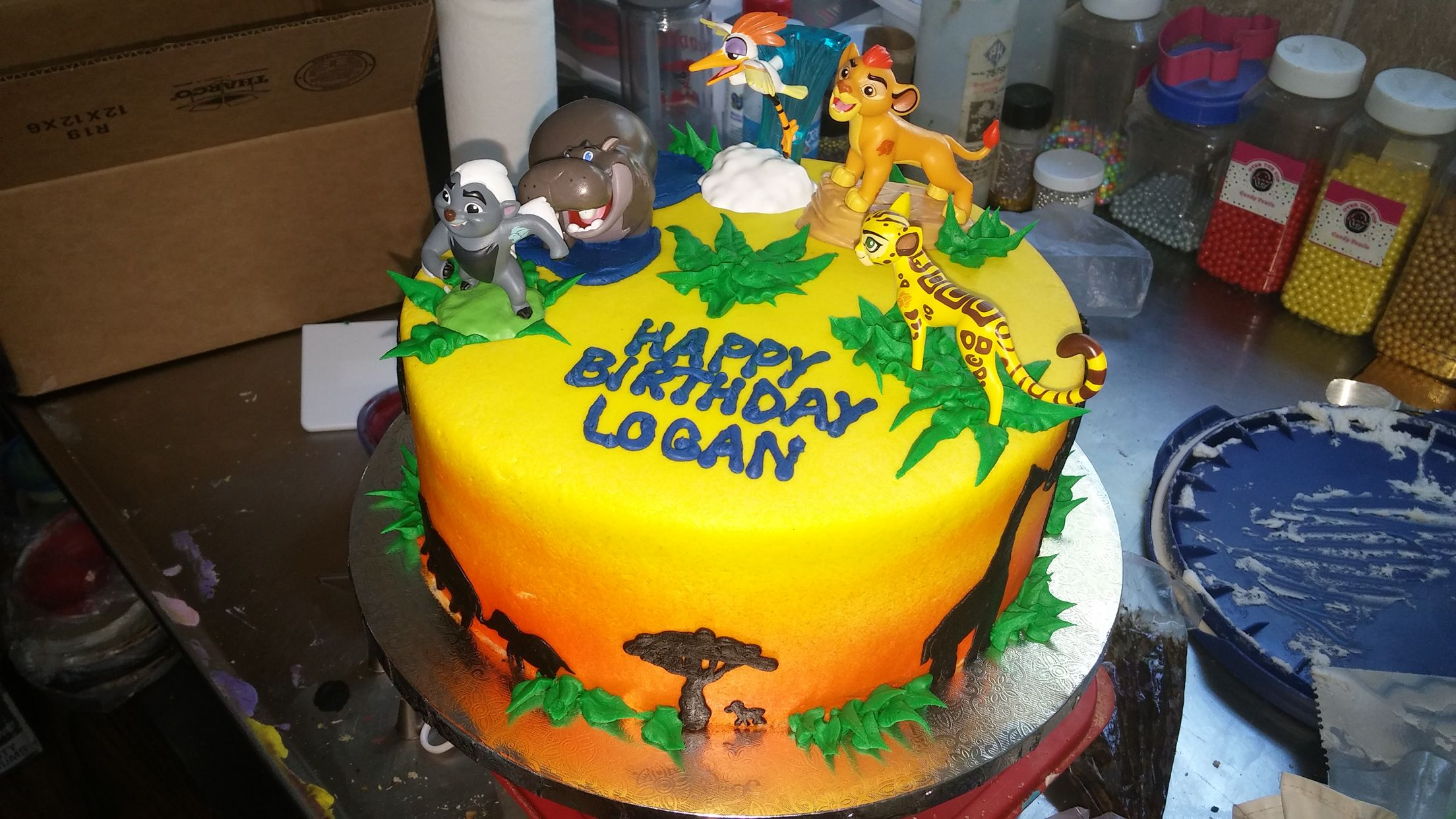 Lion Guard Cake from Naegelins Bakery Custom Cakes Pinterest