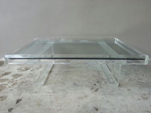 Best 70 S Outrageous Large Architectural Rectangular Lucite