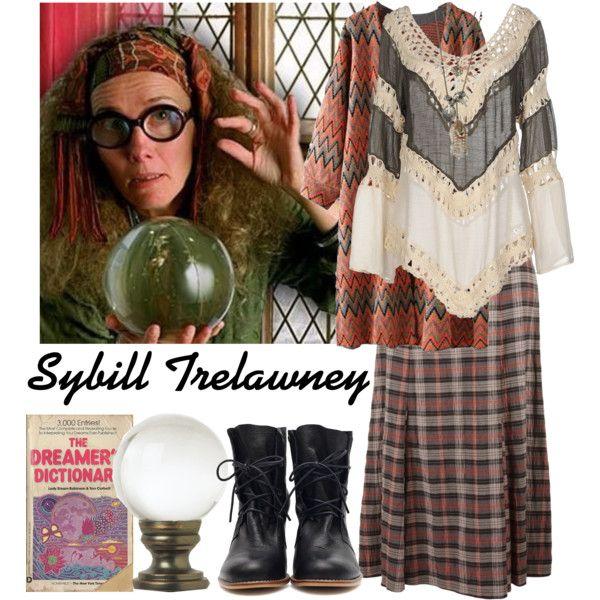 the professors of hogwarts 13 sybill trelawney in 2018 halloween