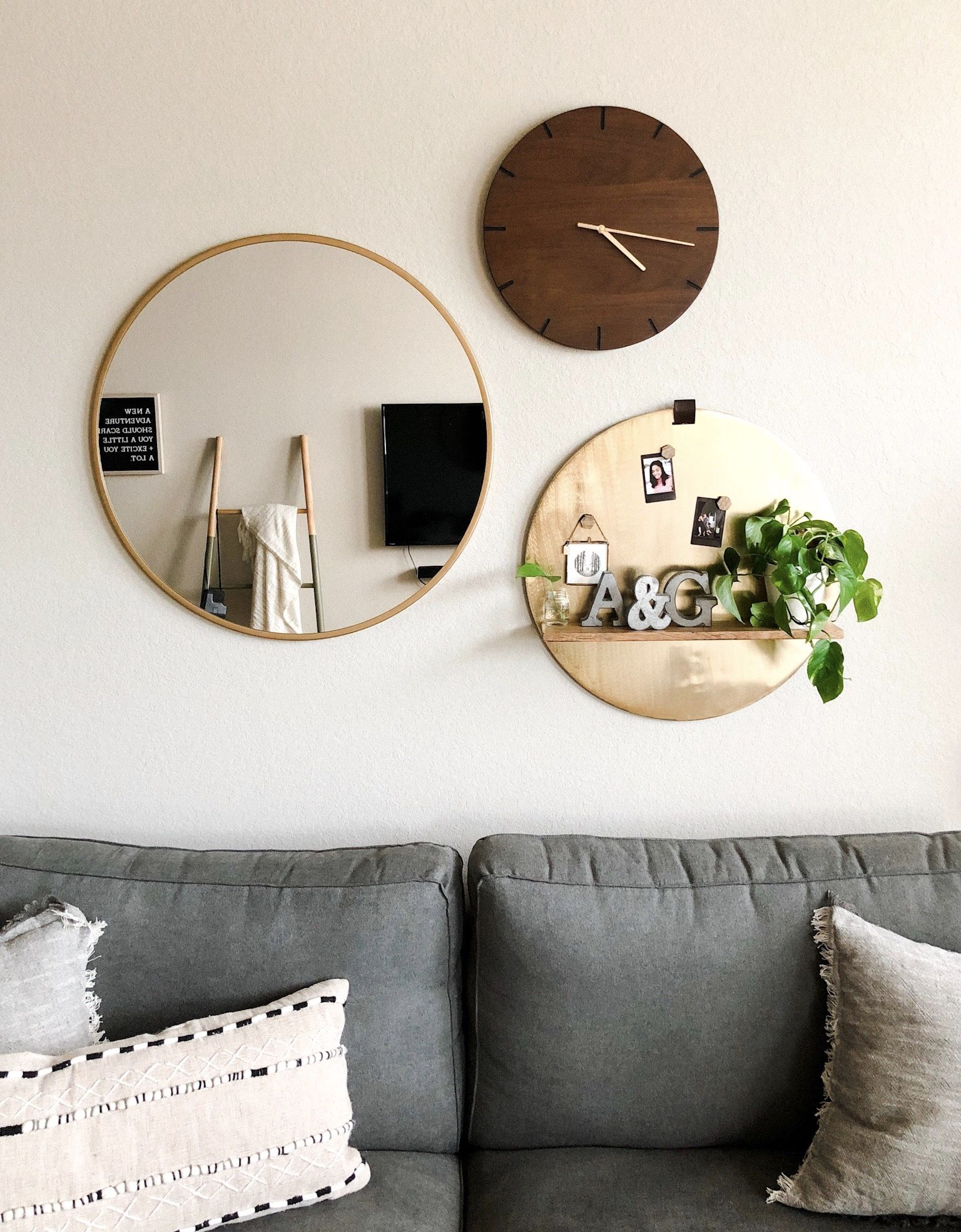 Round Wall Decor