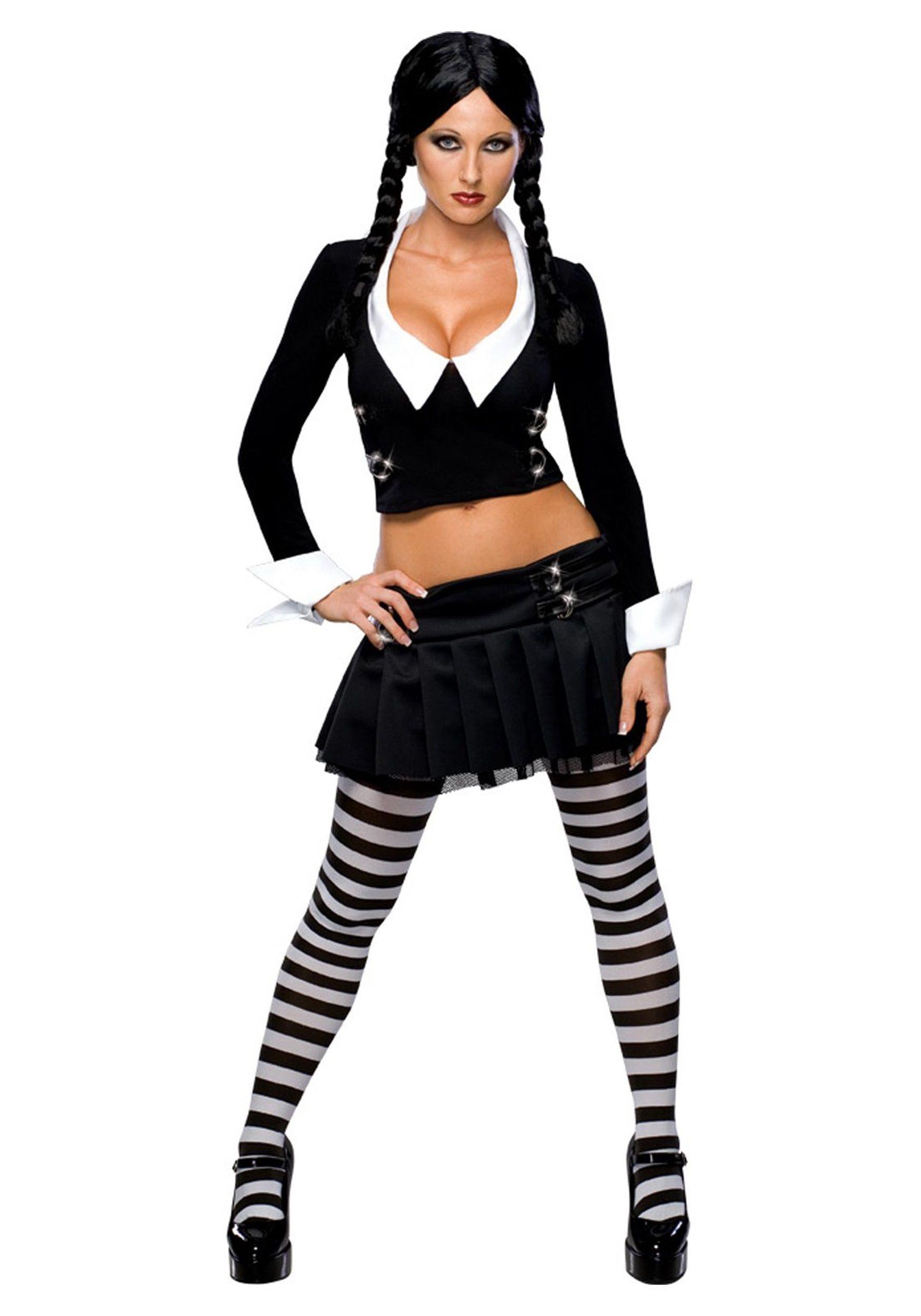 sexy wednesday addams costume - Halloween Costumes Wednesday Addams